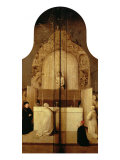 Triptych of the Epiphany (Mass of Saint Gregory) Giclee Print by Hieronymus Bosch