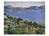 L'Estaque Giclee Print by Paul Cézanne