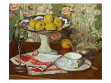 Still Life with Fruit Dish and Cup Giclee Print by Georges Daniel De Monfreid