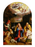 Adoration of the Shepherds Giclee Print by Durante Alberti