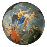 Time and Truth Giclee Print by Nicolas Poussin