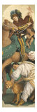 Triptych with the Adoration of the Magi: Left-hand Panel Giclee Print by Gaudenzio Ferrari
