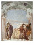 Minerva Preventing Achilles from Killing Agamemnon Giclee Print by Giambattista Tiepolo