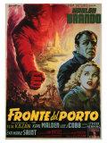 On the Waterfront, Italian Movie Poster, 1954 Digitálně vytištěná reprodukce