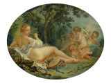 Bacchante and Cupids Giclee Print by Francois Boucher