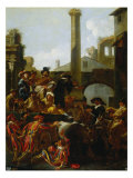 The Carnival in Rome Giclee Print by Jan Miel