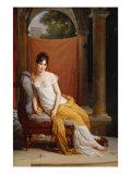 Portrait of Juliette Recamier Giclee Print by Francois Gerard