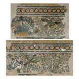 Decoration from the Palace of Amenhotep (Amenophi) III at Malkata Giclee Print