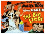 Big Store, UK Movie Poster, 1941 Digitálně vytištěná reprodukce