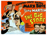 Big Store, UK Movie Poster, 1941 Giclee Print