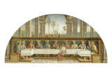 Last Supper Giclee Print by Pietro Perugino