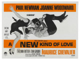 A New Kind of Love, UK Movie Poster, 1963 Giclee Print