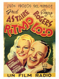 Shall We Dance, Spanish Movie Poster, 1937 Prints