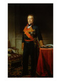 Portrait of the General Duque de San Miguel Giclée-trykk av Federico de Madrazo y Kuntz