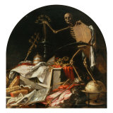 Allegory of Death Gicl&#233;e-Druck von Juan de Valdes Leal