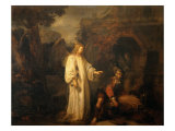 The Angel Appears to Araunah Lámina giclée por Gerbrand Van Den Eeckhout