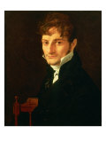 A Member of the Belveze-Foulon Family Giclee Print by Jean-Auguste-Dominique Ingres