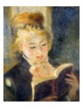 Woman Reading Giclee Print by Pierre-Auguste Renoir