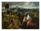 Saint Christopher Giclee Print by Joachim Patenier