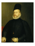 Portrait of Philip II Giclee Print by Alonso Sanchez Coello