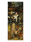Triptych of the Garden of Earthly Delights, Right-Hand Panel with Hell Giclee Print by Hieronymus Bosch
