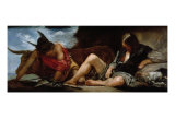 Mercury and Argus Giclee Print by Diego Velazquez