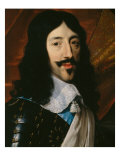 Portrait of the King Louis XIII Lámina giclée por Philippe De Champaigne