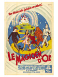 The Wizard of Oz, French Movie Poster, 1939 Plakater