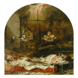 Finis Gloriae Mundi Gicl&#233;e-Druck von Juan de Valdes Leal