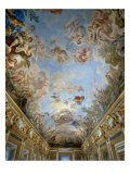 Ceiling with Apotheosis of the Medici Dynasty Giclee Print by Luca Giordano