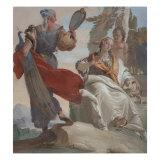 Humility Crushing Pride Giclee Print by Giambattista Tiepolo