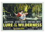 Lure of the Wilderness, UK Movie Poster, 1952 Giclee-vedos