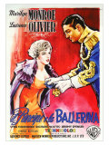 The Prince and the Showgirl, Italian Movie Poster, 1957 Posters