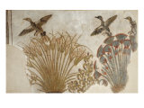 Ducks in a Papyrus Swamp, from Tell el-Amarna Giclee Print
