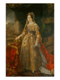Isabella II Giclee Print by Vicente Lopez y Portana