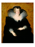 Portrait of Marie de Medicis Giclee Print by Peter Paul Rubens