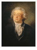 Portrait of Honoriquetti count of Mirabeau Giclee Print by Joseph Boze