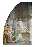 Saint Roch Healing Victims of the Plague Giclée-tryk af Rutilio Manetti