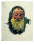 Self-Portrait, 1917 Giclee Print by Claude Monet