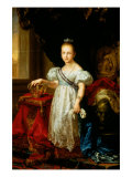 Portrait of Isabella II Giclee Print by Vicente Lopez y Portana