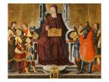 Saint Felicity and Her Children Giclée-tryk af Neri Di Bicci
