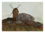 The Mill Giclee Print by Odilon Redon