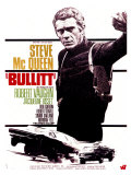 Bullitt, French Movie Poster, 1968 Gicle-tryk