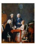The Backgammon Play Giclee Print by Jean Francois Garneray