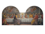 Last Supper Giclee Print by Matteo Rosselli
