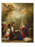 Annunciation Giclee Print by Bartolome Esteban Murillo