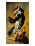 Aranjuez Immaculate Conception Giclee Print by Bartolome Esteban Murillo