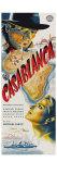 Casablanca, Czech Movie Poster, 1942 Digitálně vytištěná reprodukce