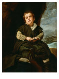 Portrait of the Boy from Vallecas, Francisco Lercano Giclee Print by Diego Velazquez