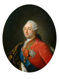 Portrait of King Louis XVI, 1786 Giclee Print by Antoine Francois Callet